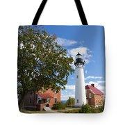 Au Sable Lighthouse 9 Tote Bag
