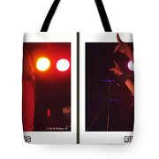Audio Outlaws - Cross Your Eyes And Focus On The Middle Image Tote Bag