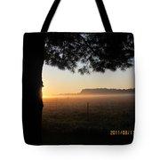 August 12 Sunrise Tote Bag