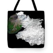 Augustine Volcano, Alaska Tote Bag