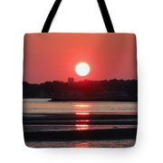 Aura Of A Sunset Tote Bag by Meandering Photography