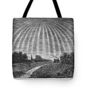 Aurora Borealis, 1837 Tote Bag
