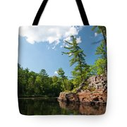 Ausable Chasm 1618 Tote Bag
