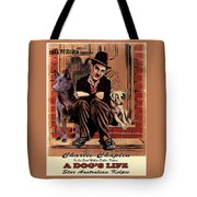 Australian Kelpie - A Dogs Life Movie Poster Tote Bag