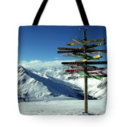Austria Mountain Road Show Tote Bag