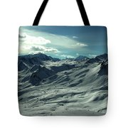 Austria Snow Mountain Tote Bag