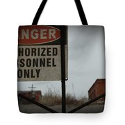 Authorized Personnel Tote Bag