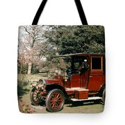 Auto: French Taxi, 1908 Tote Bag