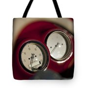 Auto Meter Dashboard Guages Tote Bag