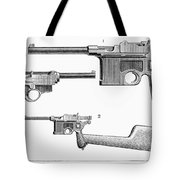Automatic Pistols Tote Bag