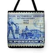 Automobile Association Of America Tote Bag