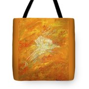 Autum Angel Tote Bag by Judy M Watts-Rohanna