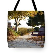 Autum At The Park Tote Bag