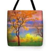 Autum Morning Tote Bag