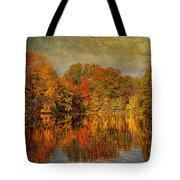 Autumn - Landscape - Tamaques Park - Autumn In Westfield Nj  Tote Bag