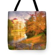 Autumn And Architecture Tote Bag