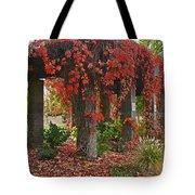 Autumn Arbor In Grants Pass Park Tote Bag