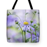 Autumn Asters Tote Bag by Jacky Parker