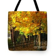 Autumn At Bayberry Cottage  Tote Bag