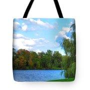 Autumn At Hoyt Lake Tote Bag