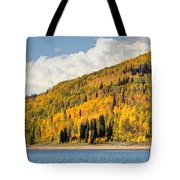 Autumn At Huntington Reservoir - Wasatch Plateau - Utah Tote Bag