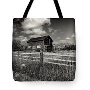 Autumn Barn Black And White Tote Bag