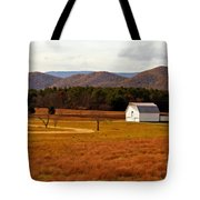 Autumn Barn In Green Bank Wv Tote Bag