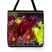 Autumn Boquet Tote Bag