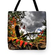 Autumn Breeze Through The Trees    Alt Tote Bag