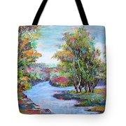 Autumn Brilliant Color Tote Bag