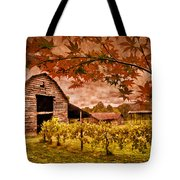 Autumn Cabernet Tote Bag