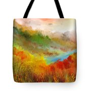 Autumn Daze Tote Bag