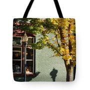 Autumn Detail In Old Town Grants Pass Tote Bag