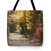 Autumn Dreams With Texture Tote Bag