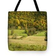 Autumn Farm Vista Tote Bag