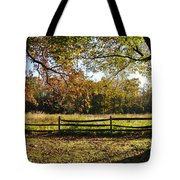 Autumn Field In Pennsylvania Tote Bag