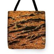 Autumn Forest Floor Tote Bag