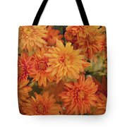 Autumn Garden Impressions Tote Bag