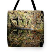 Autumn Gator Tote Bag