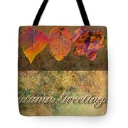 Autumn Greeting Card IIi Tote Bag