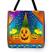 Autumn Greetings Tote Bag