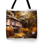 Autumn Grist Tote Bag by Steve McKinzie