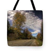 Autumn Highway Tote Bag
