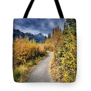 Autumn In Alberta Tote Bag