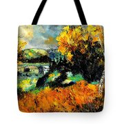 Autumn In Ardennes 672101 Tote Bag