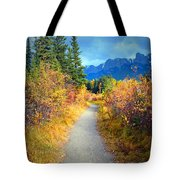 Autumn In Canada Tote Bag