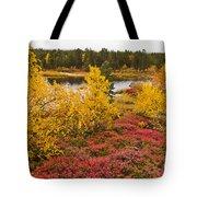Autumn In Inari Tote Bag