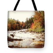 Autumn In New Hampshire Tote Bag by Crystal Joy Photography
