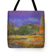 Autumn In Nisqually Tote Bag