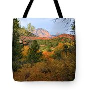 Autumn In Red Rock Canyon Tote Bag